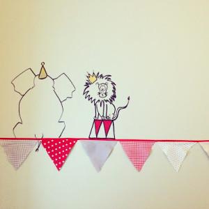 RojoSillon_Mural infantil_El circo de Angel_ 4
