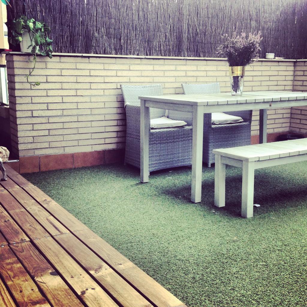 Interiorismo: Tarima terraza de madera