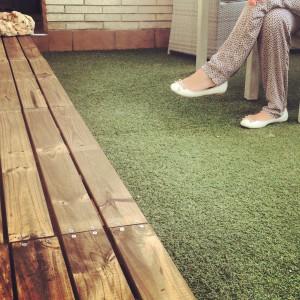 Tarima terraza madera rojosill n - Tarima para terraza ...
