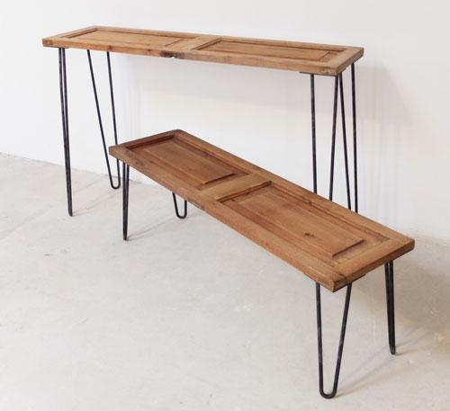 Mesa porticón madera