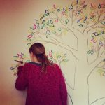 RojoSillon_Mural Infantil Pared_Buho y arbol_12