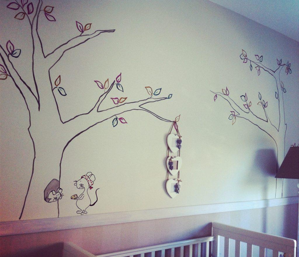 RojoSillon_Mural Pared infantil_04