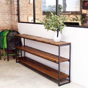 rojosillon estanteria madera y hierro 02