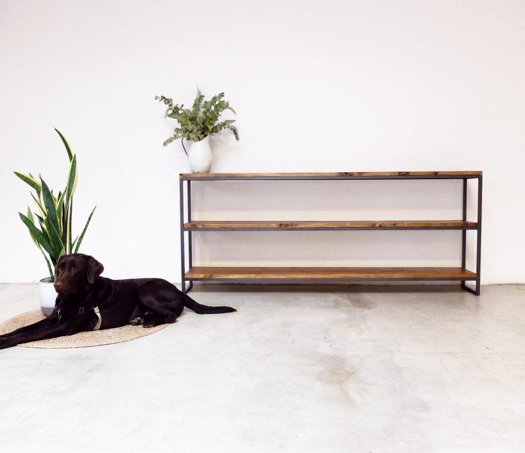 rojosillon estanteria madera y hierro 04