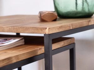 rojosillon_mesa set tres_ hierro y madera 09