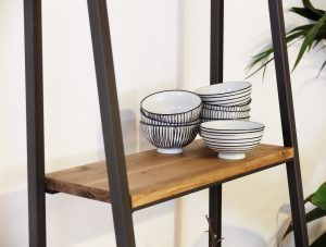 Estanterias en forma de escalera best estanteria libro - Estanterias de hierro ...