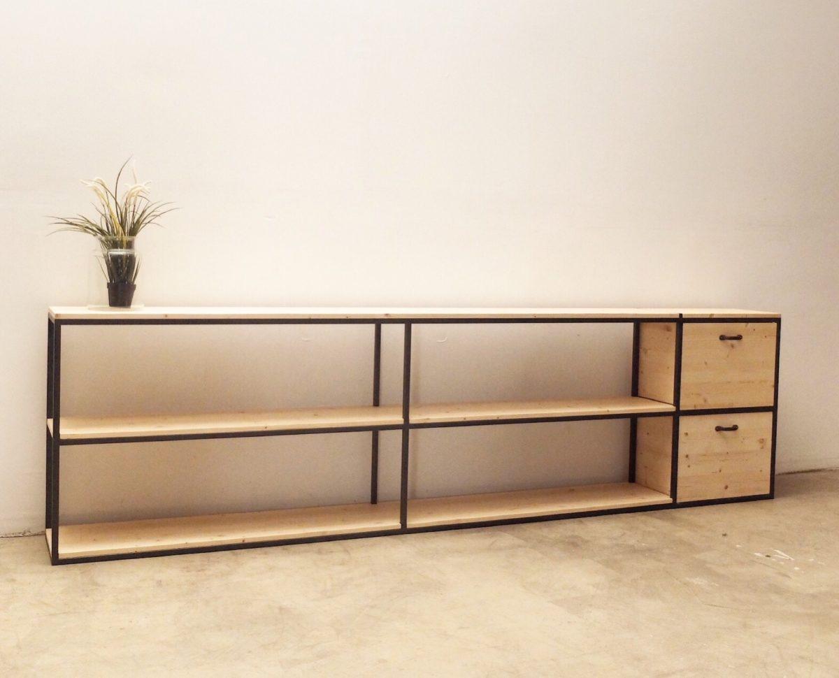 Objetos y muebles archivos p gina 2 de 6 rojosill n for Muebles industriales madera y hierro