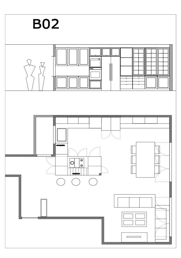 diseño interiorismo cocina