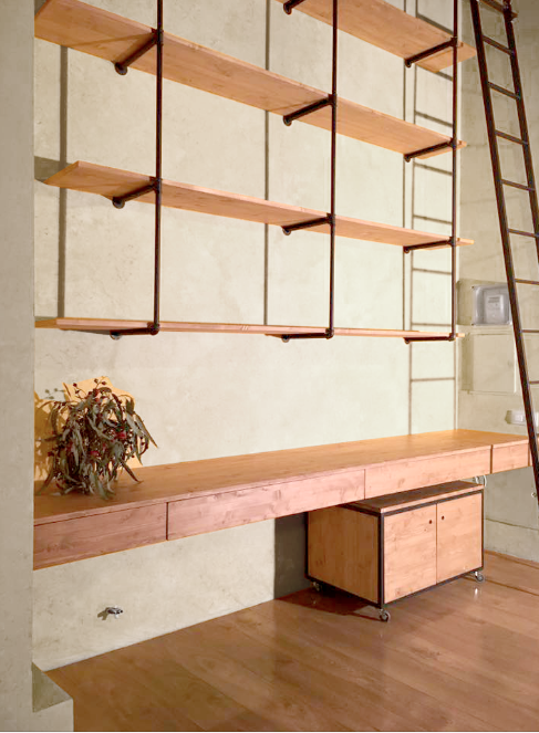 mobiliario a medida despacho estanteria mesa
