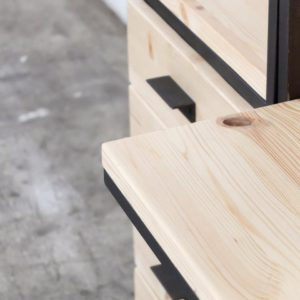 despacho a medida hierro y madera rojosillon